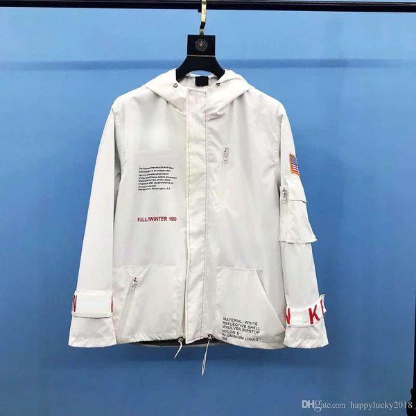 M-XL мужская куртка комбинированная непромокаемая ветровка мужская лунная серия флаг флаг куртка