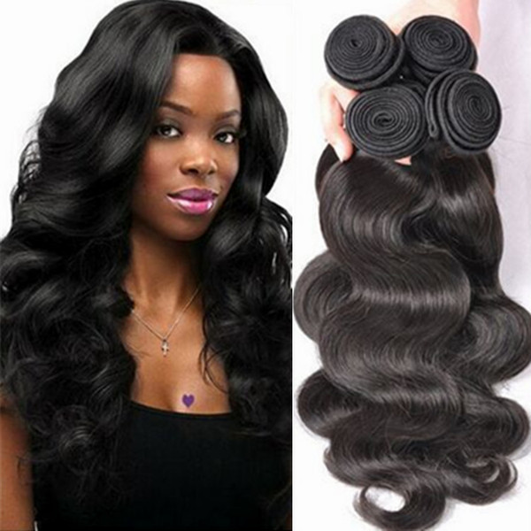Peruvian virign human hair bundles natural black 8-30inch deepwave loosewave bodywave straight kinkycurly human hair for black women