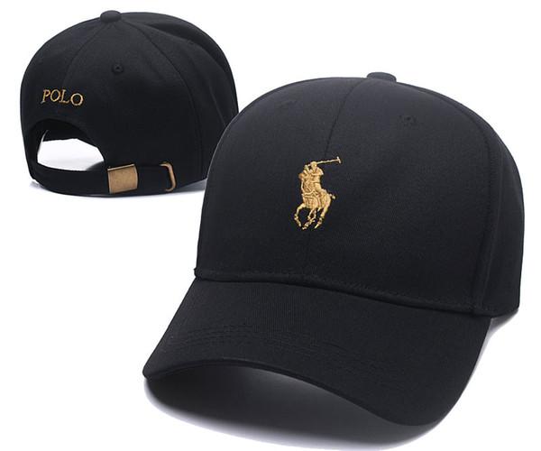 New Polo Cap Fashion Casual Cap Top Quality 6 Panel Hat Berretto da baseball popolare 100% cotone Strapback Hat Famoso cappello visiera parasole per bambino adulto