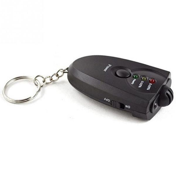 Portable Breath Alcohol Tester Breathalyzer with Flashlight Function Key Chains