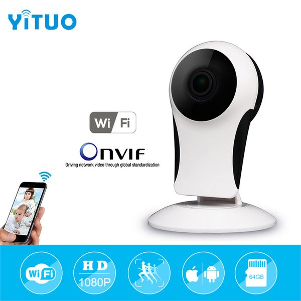 180 angle Wireless Wifi IP Network Security Camera 720P/1080P HD P2P CCTV Home Surveillance Camera Indoor Baby Monitor YITUO