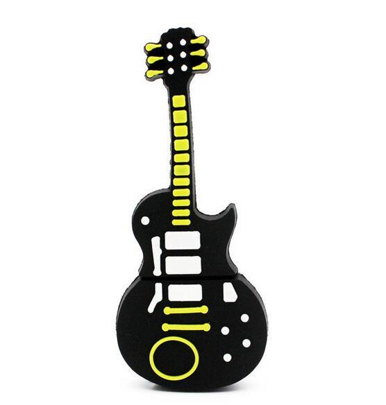 Music note pen drive musical instrument usb flash drive pendrive 4GB 8GB 16GB 32GB cartoon memory stick U disk gift