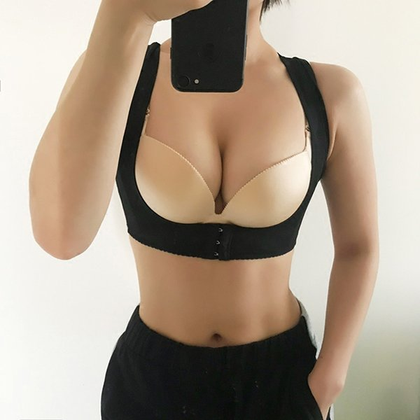 Tightening Breast Sport correction strap Chest supporting Anti Sagging Gather braces chest strap push up bra sports fitness bra