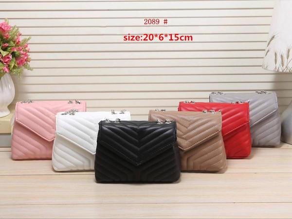 Mais novo 2018 projeto pequeno flap mulheres caixa clássica saco de bolsas de couro genuíno senhoras saco do mensageiro do couro para o sexo feminino 2089 #