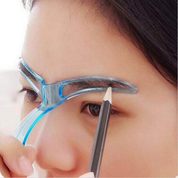 Acheter Nouveau Guide Du Dessin De Pochoir à Sourcils Utile Modèle Dessiné Styling Mise En Forme Facile Maquillage Outil De Beauté De 2445 Du