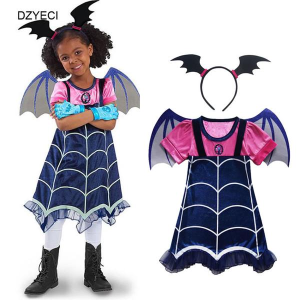 disfraz de vampirina para nia vestidos de halloween vestido de fiesta de cumpleaos para nios boutique