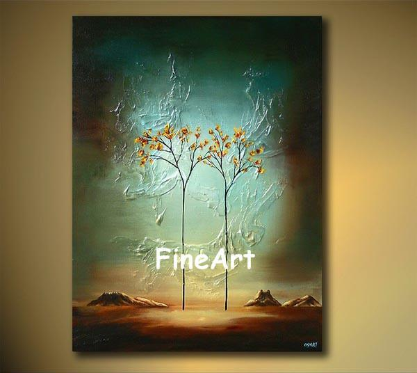 Painted Tree Wall Art