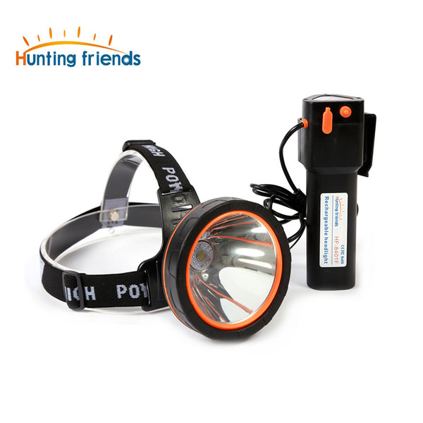 12pcs/lot High Power LED Headlamp Headlight LED Rechargeable Head Torch Waterproof Head Lamp for Fishing Hunting Camping