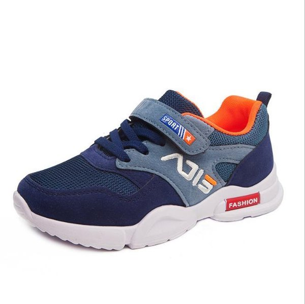 Baby sells best new style autumn boys girls student shoes breathable lightweight super cool tennis shoes 8801