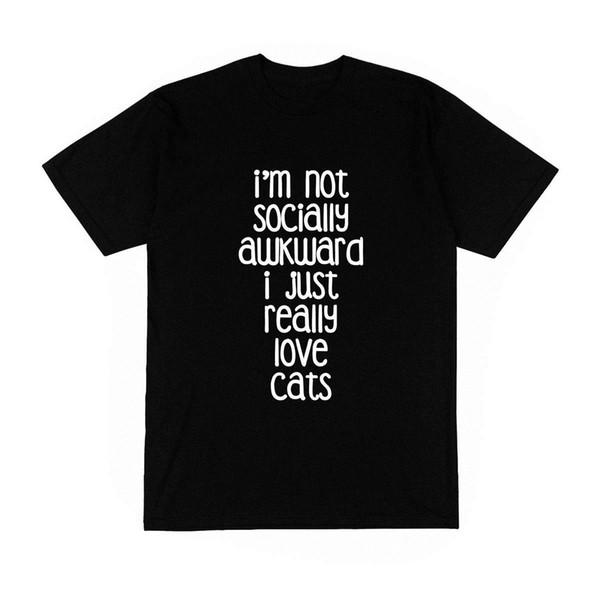 Compre Camiseta Homme Monsieur Jaime Les Chats Frase Extraña Humor Modo Francia A 1208 Del Lijian17 Dhgatecom