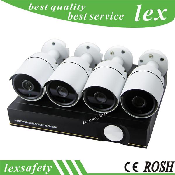 P2P Cloud CCTV System IR Outdoor Night Vision Video camera POE NVR Kit,960p IP Camera P2P Video Onvif Security Surveillance Set