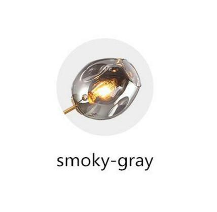 Abat-jour gris fumé