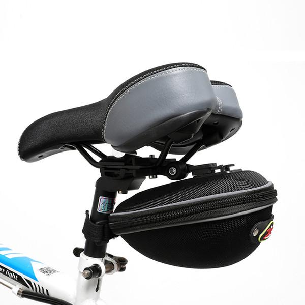Nylon Bicycle Bag Bike Waterproof Storage Saddle Bag Seat Cycling Tail Rear Pouch Saddle Bicicleta Accessories #SW