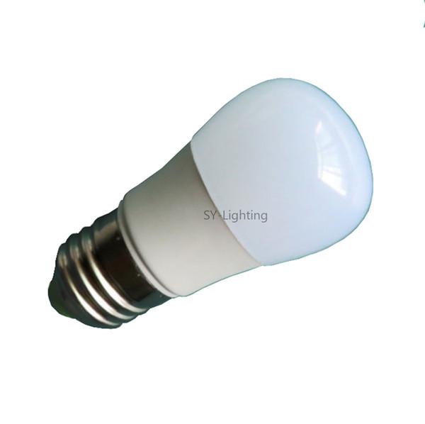 E26 E27 A45/A14 1W 9 LEDs 5050 SMD LED Light Globe Ball Bulb DC 12V White Warm Lamp fit Solar Energy ,10PCS