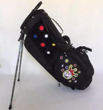 golf stand bag limited edition golf bag for tour use only portable support package black blue gray orange colors golf staff bag