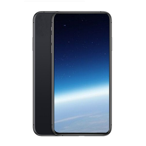 Goophone XS MAX Quad Core 6.5inch Android Smartphones MTK6580 1G/4G Show Fake 4G/256G 4G lte Unlocked Phone