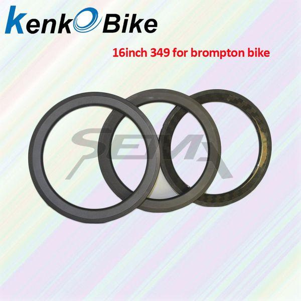 SEMA carbon rim 16inch349 full T700 carbon rim for Brompton bike best quality for folding bike super light weight clincher rim