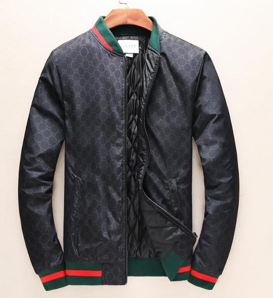 Großhandel Brand Designer Neue Heiße Verkauf Männer Jacke Herren Baumwolle Sportler Mode Outdoor Herren Mantel Kleidung Freizeitjacken Plus Größe M