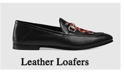 Leder Loafers
