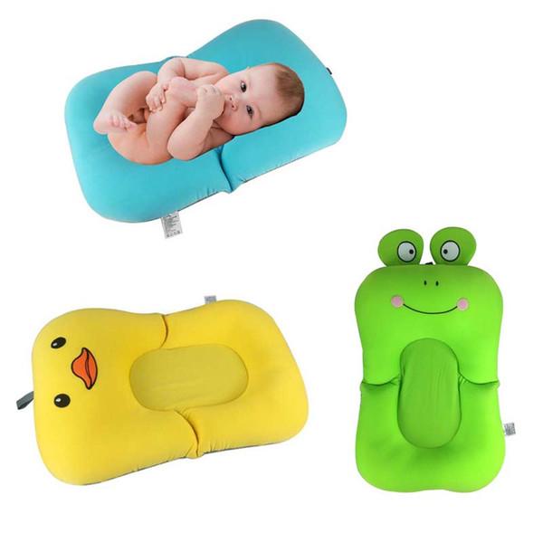 Foldable Baby bath tub/bed/pad bathtub bath chair/shelf baby shower nets newborn seat infant bathtub support