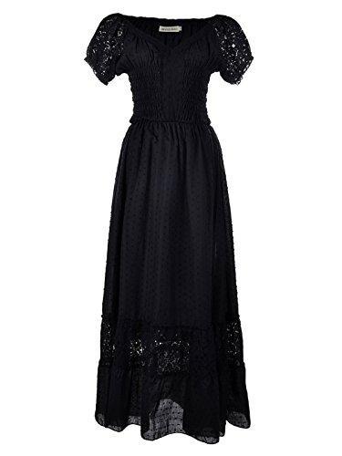 40c04e079d5 Anna Kaci Renaissance Peasant Maiden Boho Inspired Cap Sleeve Lace ...
