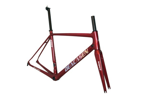 atest full carbon road frame customized carbon road frame BB86 Frame Fork headse Racing bicycle