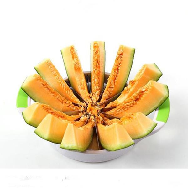 Çevre Dostu Yuvarlak Karpuz Bıçak Dilimleme Kesici Mutfak Karpuz Mutfak Aksesuarları alet için Araçlar Meyve Bıçağı Kesim