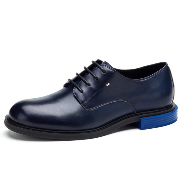 Monstrinho pequeno Melhor Qualidade de Couro De Couro Real Dos Homens Sapatos Casuais Designer de Luxo Oxford Mocassin Sapatos de Vestido Zapatos Hombre
