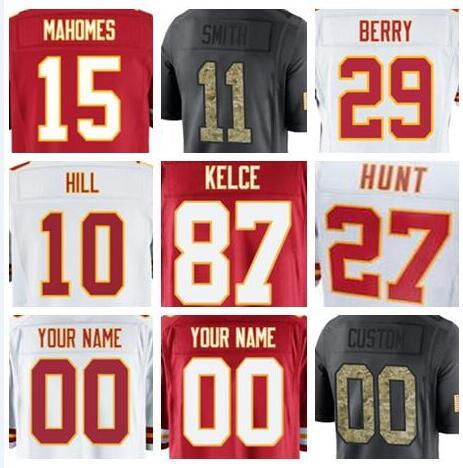 sale retailer 2a8e9 1bed0 2018 2018 Kansas City Eric Berry Jersey Anthony Hitchens Derrick Thomas  Tony Gonzalez Chiefs Salute To Service American Football Jerseys Factory  From ...
