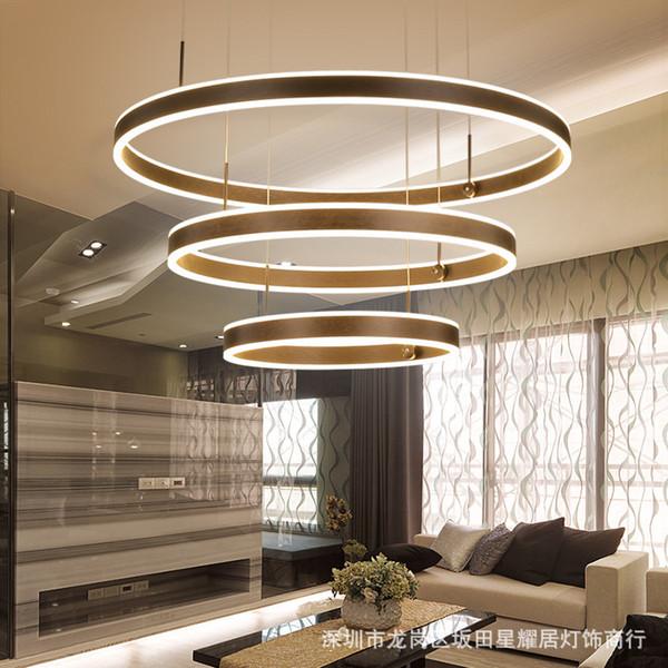Großhandel LED Kronleuchter, Wohnzimmer Lampe, Moderne Atmosphäre,  Esszimmer Lampe, Persönlichkeit, Kunst, Nordischen Stil Von Jigsaw, $487.36  Auf ...
