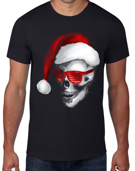 Santa Claus Winter Women's Novelty Christmas Bah Humbug T