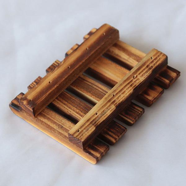 Portacandele in legno naturale fatto a mano in legno bagno contenitore scatola di detersivo vasca da cucina spugna tazza di immagazzinaggio portasapone jc-147