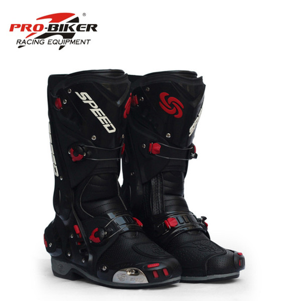 Riding Microfiber Men 2019 Motocross Tribe Boots Leather Moto Atuomoto189 Riding Boots From SPEED Shoes 08 Motorcycle Motorbike Racing Male kn0wP8O