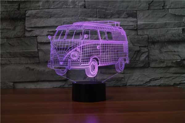 87Dhgate Usb For From Bedroom 2018 com Table Onerepublic12 Light 3d Acrylic Decorationly Public Bus Night Lamp Change Led UVGqzSMp
