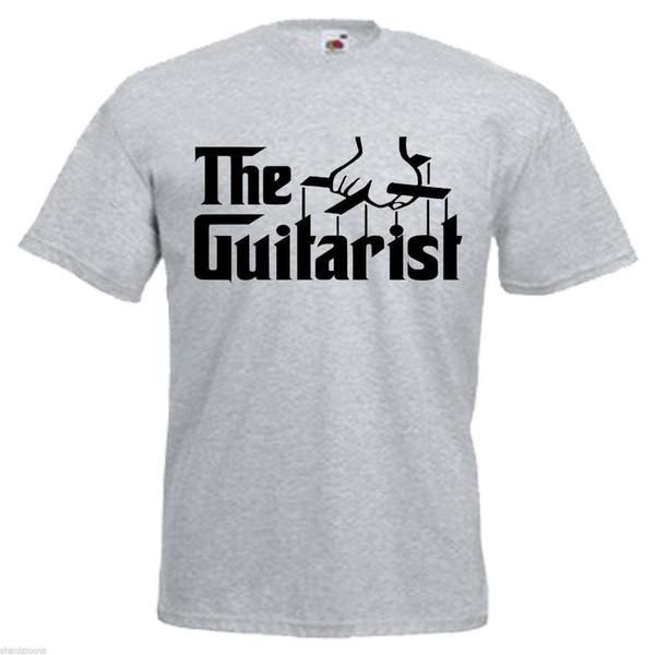 Guitarist Guitar Band Adults Mens T Shirt 12 Colours Size S - 3XL