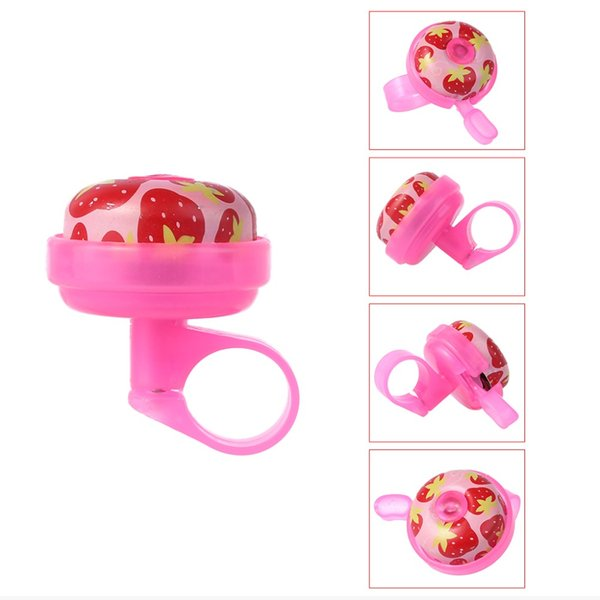 Bicycle Bell Children Warning Sound Floral Kids Cycling Safety Horn Alarm Ring