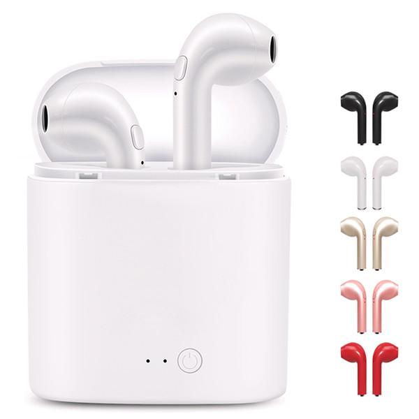 I7S TWS Bluetooth Kopfhörer Wireless Earbuds True Stereo-Ohrhörer mit Ladebox Twins Mini Bluetooth Ohrhörer für IOS Android