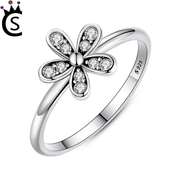 pandora anello fiore