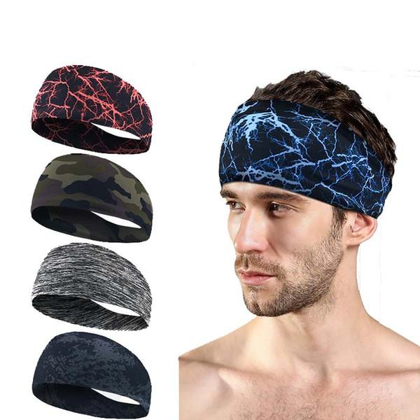 1 Pcs Elastic Yoga Hair Band For Running Fitness Gym Accessories Headband Sport Men Hairband Sweatband Head foulard cheveux