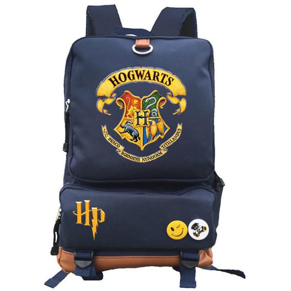 HARRY POTTER Backpack Hogwarts School Student Bags Bookbag Laptop Shoulder Bags