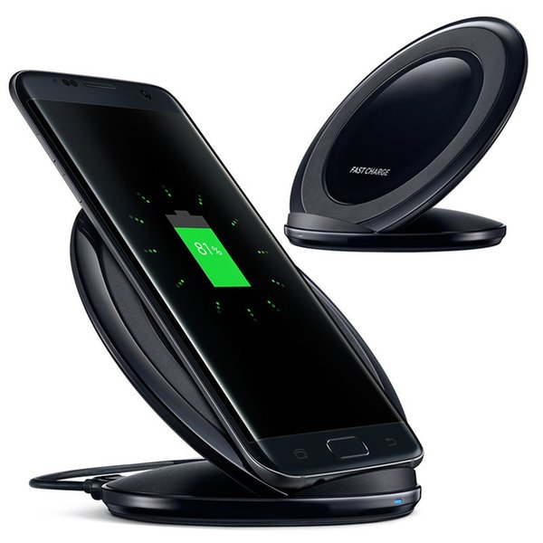 New Original QI Fast wireless Charger for Phone x xs max 8 for Samsung Galaxy S8 S8+ G9500 G9300 G9508 S7 Edge Note 5 S6 S6 Edge EP-NG930