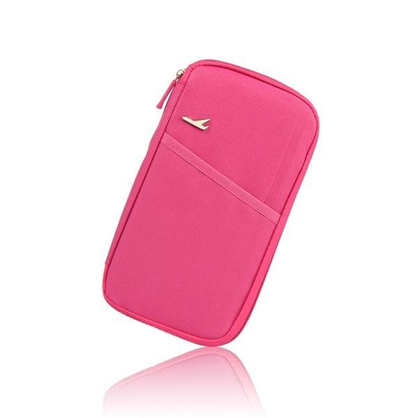 Bequeme Mode Travelus Multifunktions Kreditkarte Paket ID Halter Speicherorganisator Kupplung Geld Tasche Reisepass Abdeckung Brieftasche