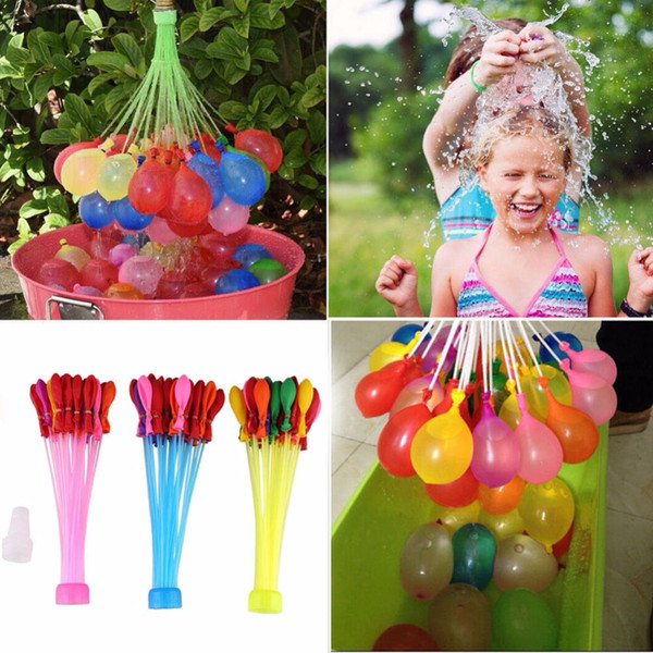 Water Balloons Outdoor Amazing Magic Water Balloon games Bomb Child Toy Child Summer Beach Sprinkler Play Vent toys