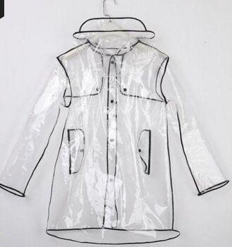 Fashion Slim PVC Polyerser Raincoat Special Sale Waterp Roof Traspirante Reflective Adult Raincost