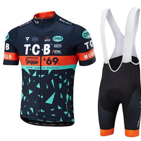 Morvelo team Cycling Short Sleeves jersey (bib) shorts sets 2018 summer new high qualityTop Brand Quality Mtb Sport Quick Dry men C1710