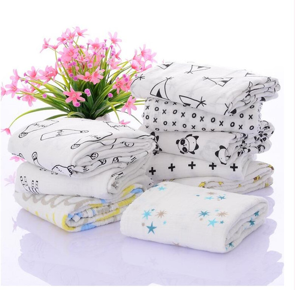 best selling Newest hotsale muslin swaddle blanket retail OEM ODM baby cotton blanket wrap for boys and girls