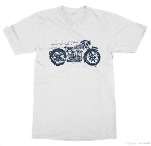 Vintage Motorcycle Club T-Shirt Ride or Die Gear Race Biker Shop Wing Live Fast
