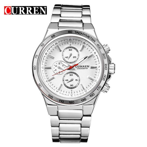 2019 CURREN New Men Watch Fashion Casual Sports Men Stainless Steel Clock Analog Quartz Wristwatch relogio masculino