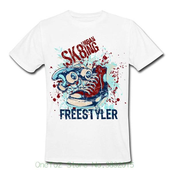 Moda T-shirt Tee T-shirt Skate Freestyle Boot Atletismo Urbano Beisebol Golfer Men Presente Jogger Sh 55