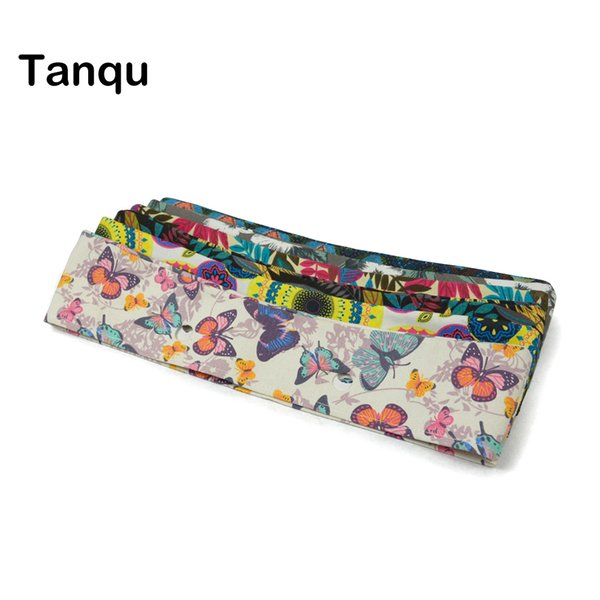 2019 Fashion TANQU New summer Classic Mini Floral Fabric Trim cotton fabric Thin Decoration for Obag Handbag O Bag Body for summer autumn